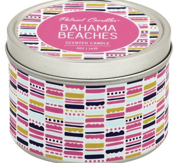 Patriot Candles – Bahama Beaches