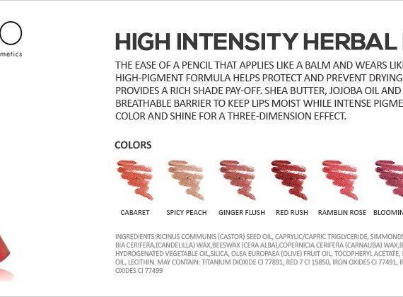 High Intensity Herbal Lip Balm