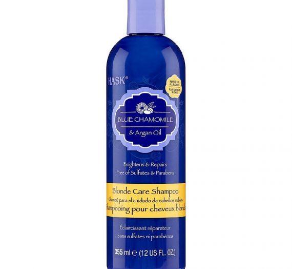 Blue Chamomile & Argan Oil Blonde Care Shampoo