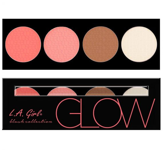 Glow Beauty Brick Blush Palette