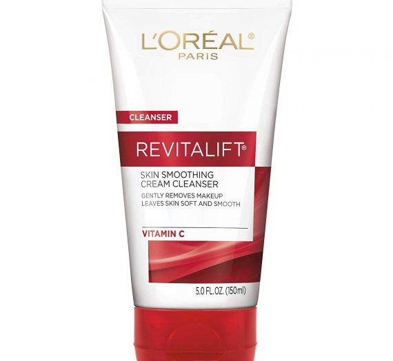 Revitalift Skin Smoothing Cream Cleanser with Vitamin C