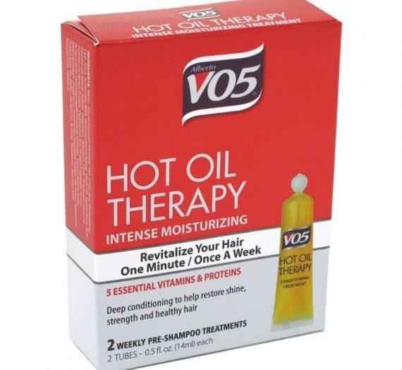 Hot Oil Aromatherapy Hair Treatment