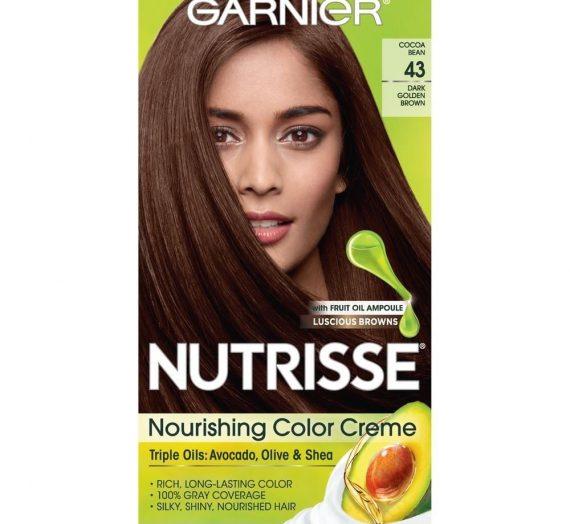 Nutrisse Creme Haircolor – Dark Golden Brown #43