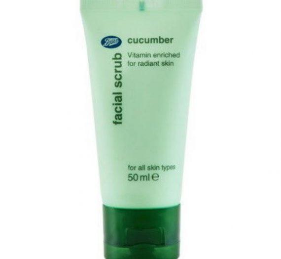 Cucumber Facial Scrub