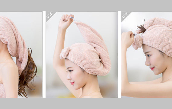Yulu Hair Drying Towel
