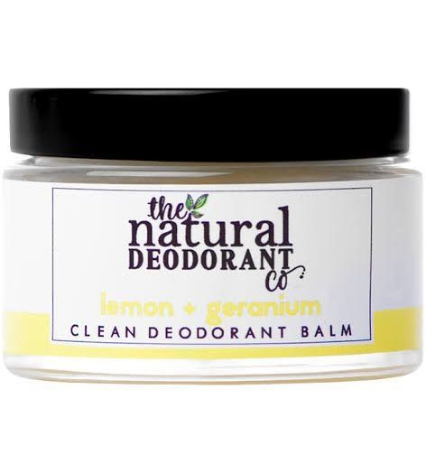 The Natural Deodorant Co – Clean Deodorant Balm: Lemon + Geranium