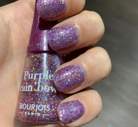 1 Seconde Nail Polish – Purple Rainbow