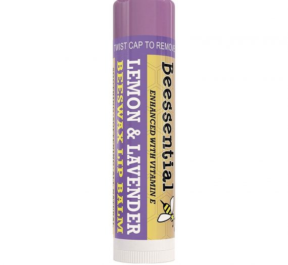 Beesential Lemon & Lavender Beeswax Lip Balm