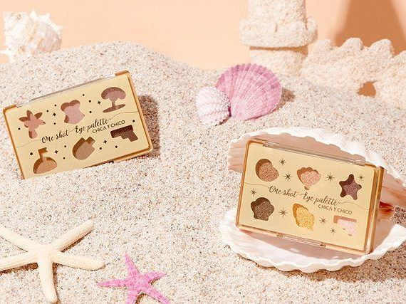 Chica Y Chico One Shot Eye Palette 07 Mellow Sand