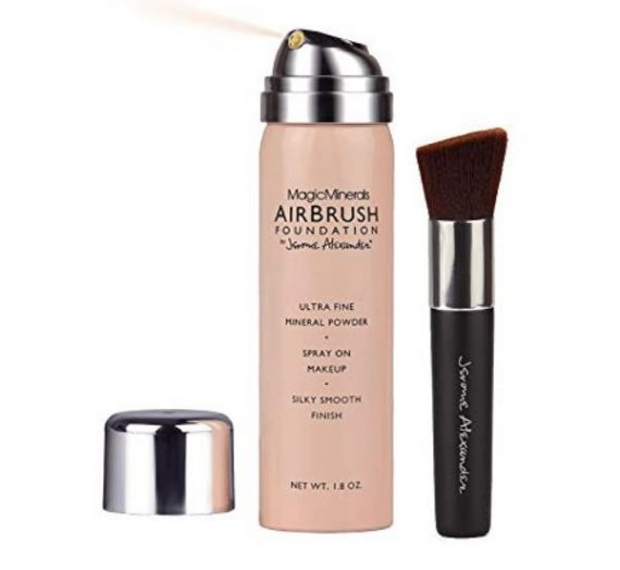 Jerome Alexander MagicMinerals Airbrush Foundation Kit