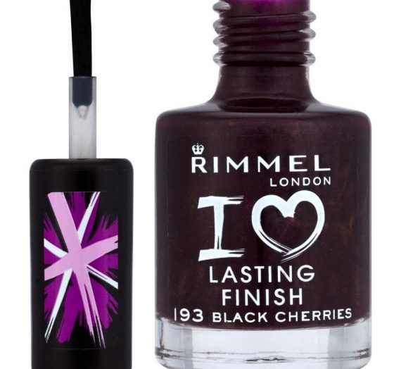 I Love Lasting Finish Nail Polish – Black Cherries