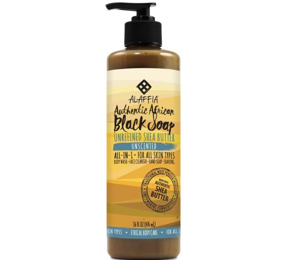Authentic African Black Soap – Unscented