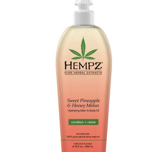 Sweet Pineapple and Honey Melon Bath & Body Oil