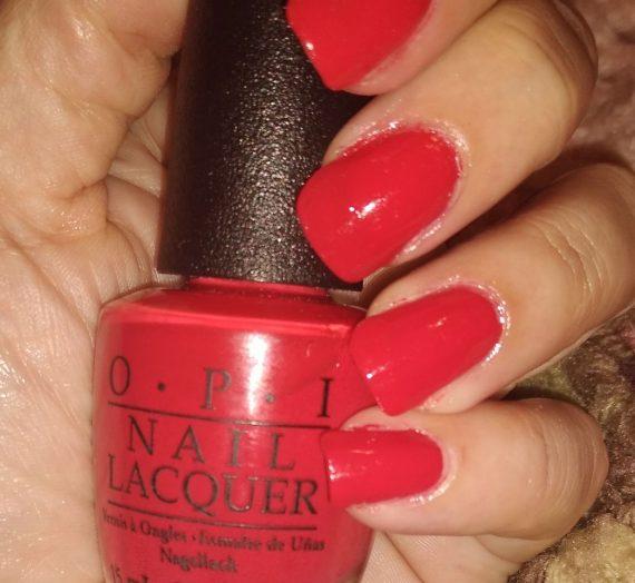 Nail Lacquer – Coca-Cola Red