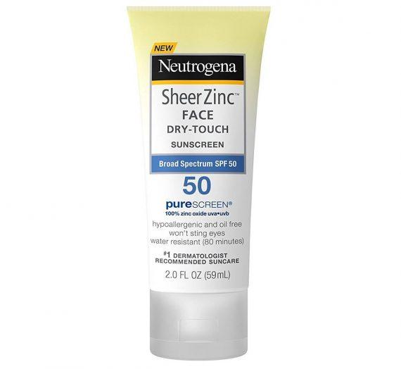 SheerZinc FACE Dry-Touch SPF 50