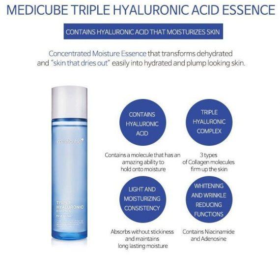 Medicube – Triple Hyaluronic Essence