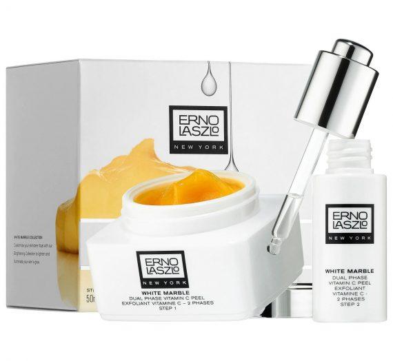 White Marble Dual Phase Vitamin C Peel