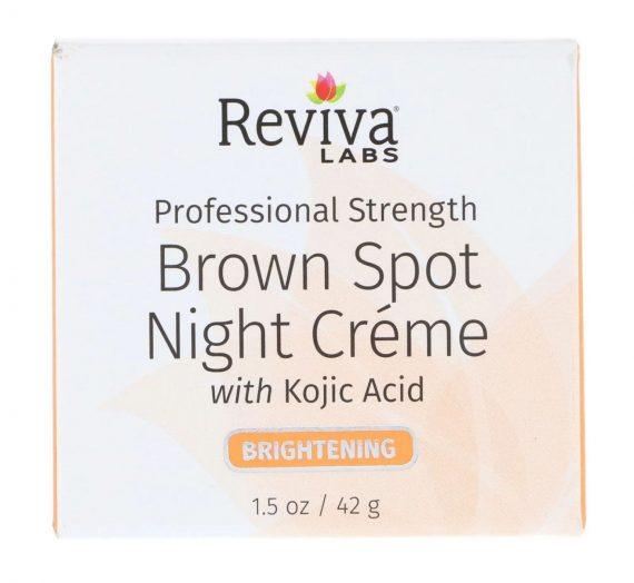 Brown Spot Night Cream with Kojic Acid