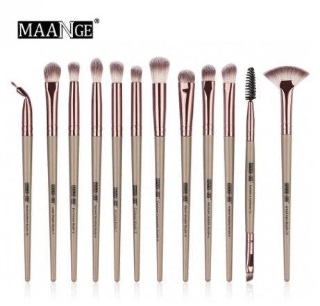 Maange beauty-Pro Makeup Brushes Set 12 pcs/lot