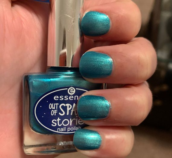 Out of Space Stories Nail Polish – Mermaid of the Galaxy