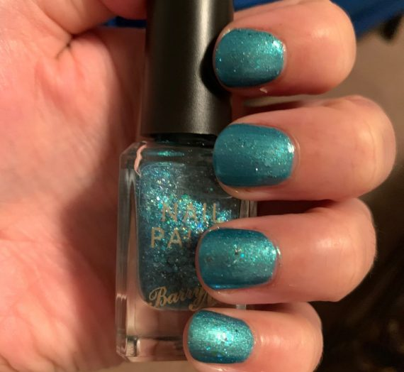 Classic Glitter Nail Paint – Ethereal Forest