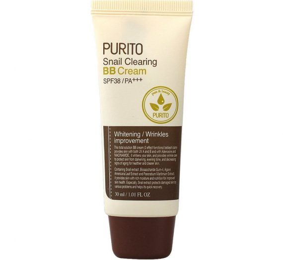 Purito Snail Clearing BB Cream SPF 38 PA+++
