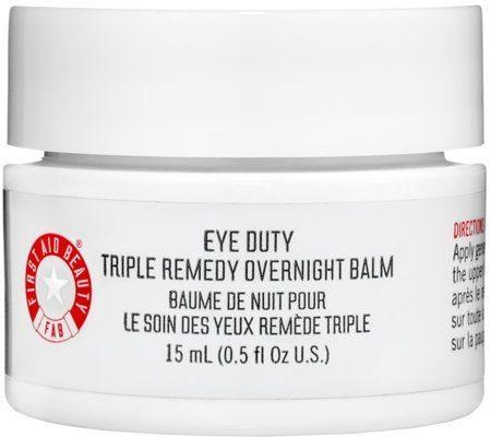 Eye Duty Triple Remedy Overnight Balm