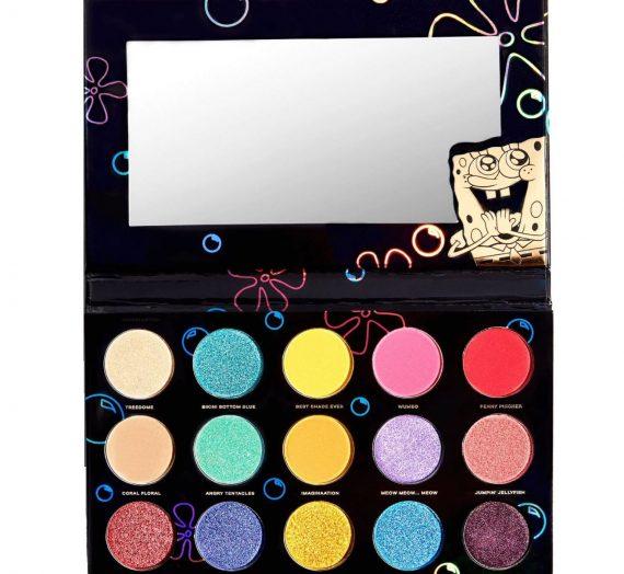 HIPDOT Spongebob Bikini Bottom Eyeshadow Palette