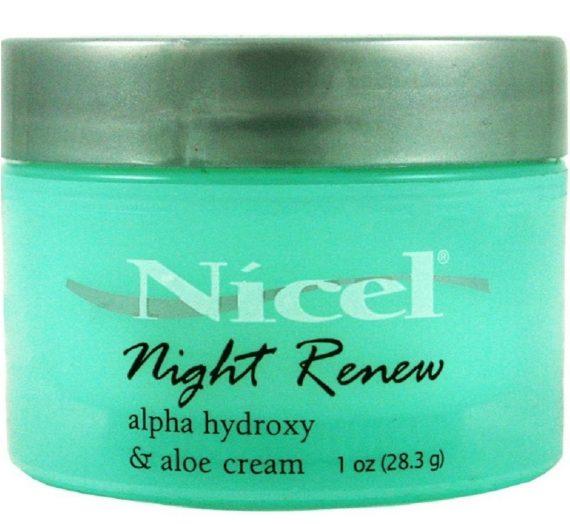 Nicel Revive + Renew Alpha Hydroxy + Aloe Radiance Cream