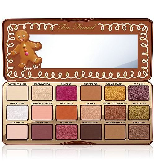 Gingerbread Spice Eye Shadow Palette