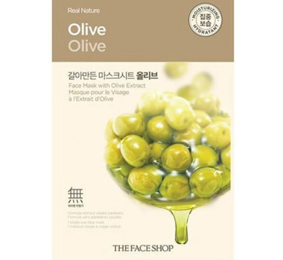 Real Nature Olive Mask