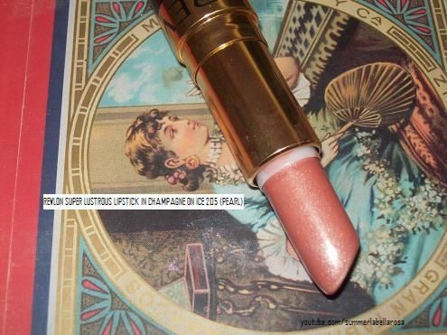 Super Lustrous Lipstick in Champagne on Ice