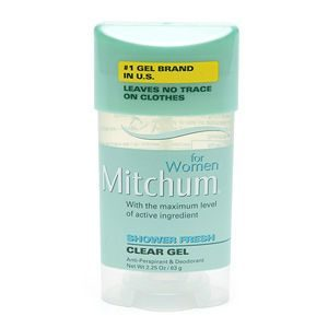 Mitchum for Women Clear Gel Antiperspirant