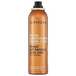 Sephora Body Self Tanning Bronzing Mist