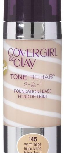 Covergirl and Olay Simply Ageless 3 in 1 Liquid Foundation