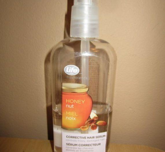 Life Brand Fresh Blends nut and honey  corrective hair serum