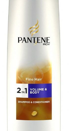 Volume and Body Shampoo and Conditioner 2 in 1