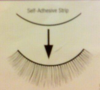 Self-Adhesive Strips Lash Adhesive