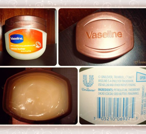 Rich Conditioning Petroleum Jelly with Cocoa Butter