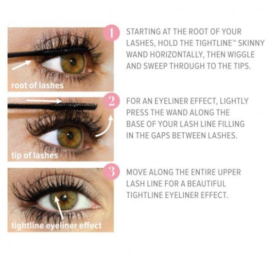 Tightline Full Lash Length Black Mascara Primer