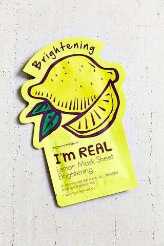 Lemon Face Mask Sheet