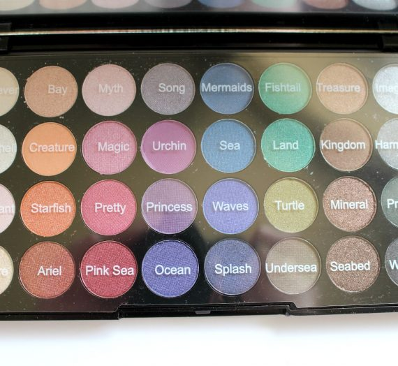 Mermaids Forever Ultra Eyeshadows Palette
