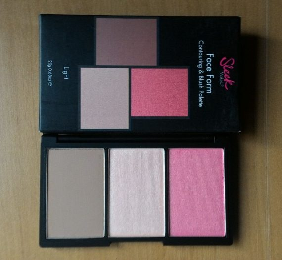 Face Form Contouring and Blush Palette