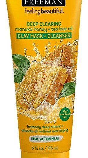 Facial Manuka Honey + Tea Tree Clay Mask+Cleanser