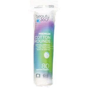 Beauty 360 Premium Cotton Rounds