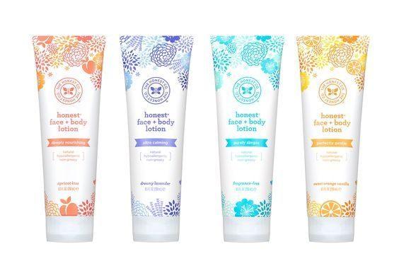 The Honest Company Face & Body lotion