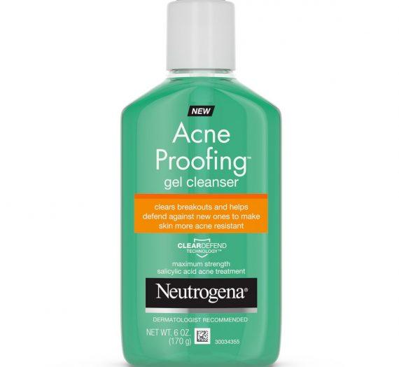 Acne proofing gel clenser
