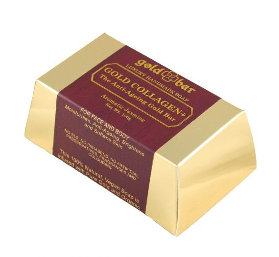 Gold Bar – Gold Collagen Soap