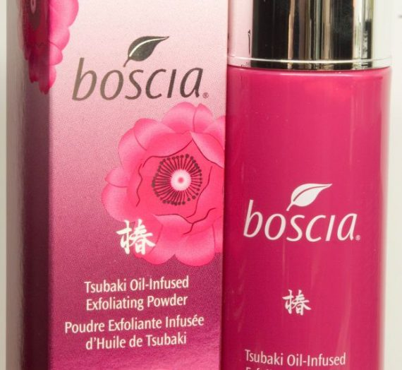 Tsubaki Oil-Infused Exfoliating Powder