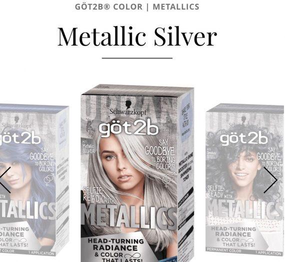 Got2B color metallics – metallic silver